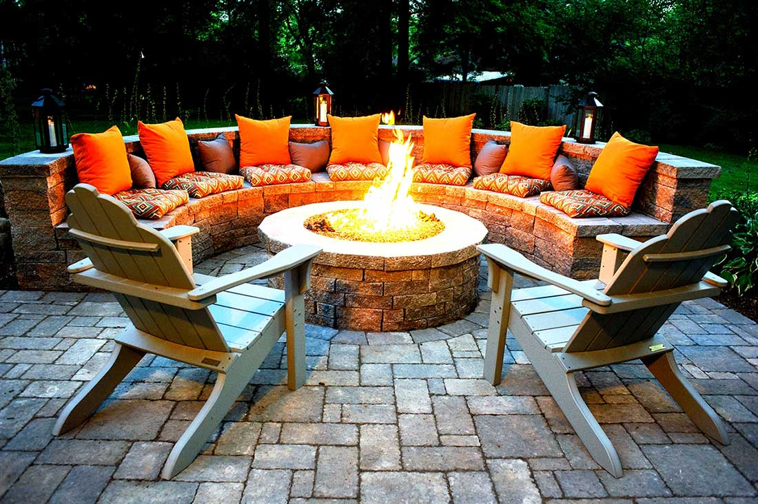 Be Creative with your fire pit